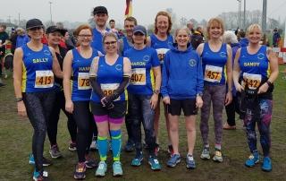 2018 Bungay Half Marathon Team
