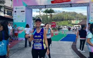 Jules Cooper at Siriroj Hospital Run