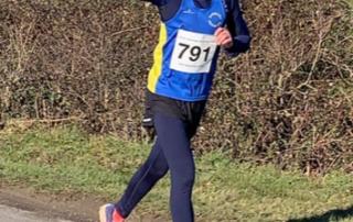 Chris Wells running the Great Bentley Half Marathon
