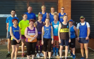 2018 Virgin London Marathon Team